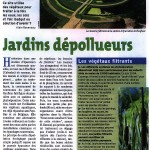 Jardin dépolluant de la ville de Honfleur