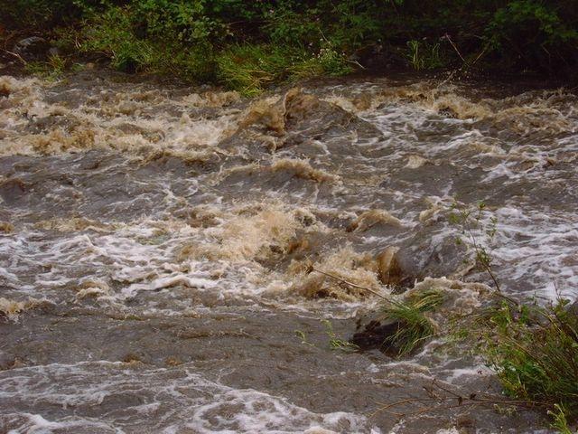 vidange du barrage de Riète